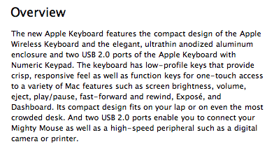 Apple Keyboard 2009 2