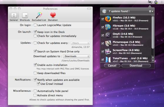 LogicielMac Update